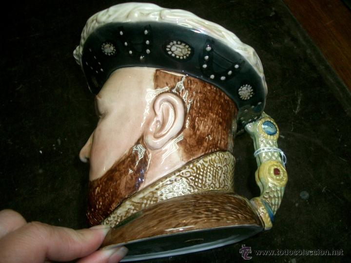 Antigüedades: JARRA DE PORCELANA INGLESA, ENRIQUE VIII- SELLO BESWICK ENGLAND 2099. - Foto 3 - 42470561