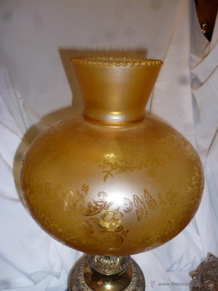 Antigüedades: QUINQUÉ DE BRONCE - Foto 3 - 42499866