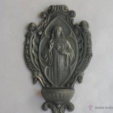 Antigüedades: BENDITERA SAGRADO CORAZON DE JESUS. Lote 42500041