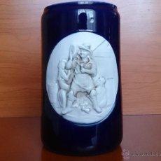 Antigüedades: ANTIGUO JARRÓN EN PORCELANA P.PEÑATAL ( SEGOVIA ), TITO .. Lote 42507222
