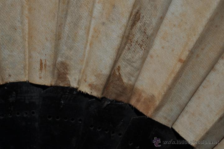 Antigüedades: ANTIGUO ABANICO DE MANUFACTURA PRINCIPIOS DEL S. XX. - Foto 8 - 42527515