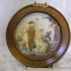 Antigüedades: MARCO DE MADERA INGLÉS DE FINAL DEL SIGLO XIX, ÉPOCA VICTORIANA. Lote 42550482