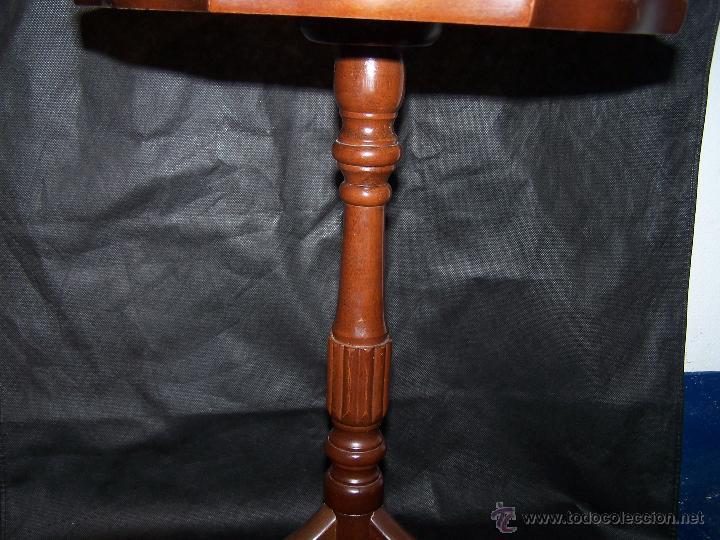 Antigüedades: Dos mesas de te inglesas antiguas muy bien conservadas - Foto 12 - 42551319