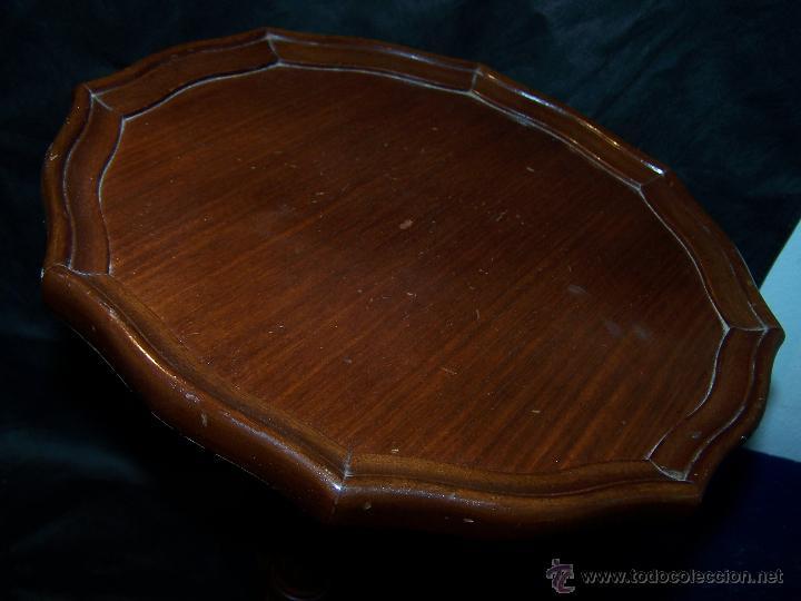 Antigüedades: Dos mesas de te inglesas antiguas muy bien conservadas - Foto 18 - 42551319