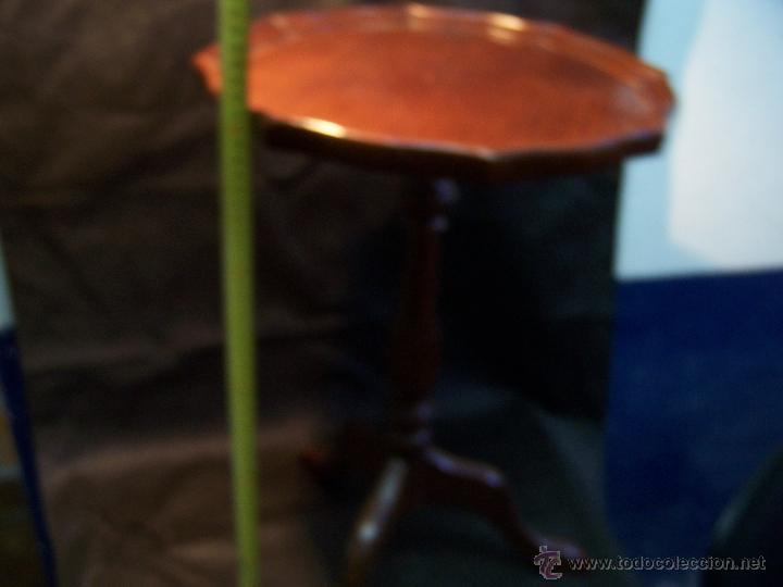 Antigüedades: Dos mesas de te inglesas antiguas muy bien conservadas - Foto 21 - 42551319