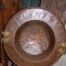 Antigüedades: PRECIOSO BRASERO GRAN TAMAÑO, ANTIGUO. Lote 42554155