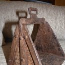 Antigüedades: PRECIOSO ESTRIBO ANTIGUO DE MONTURA, SIGLO XIX. Lote 42554495