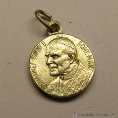 Antigüedades: MEDALLA RELIGIOSA DEL PAPA JUAN PABLO II.. Lote 42557049