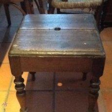 Antigüedades: BANCO ANTIGUO DE MADERA. Lote 42563275
