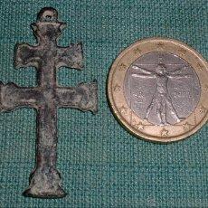 Antigüedades: ANTIGUA CRUZ DE CARAVACA SIGLO XVIII, . Lote 42628735