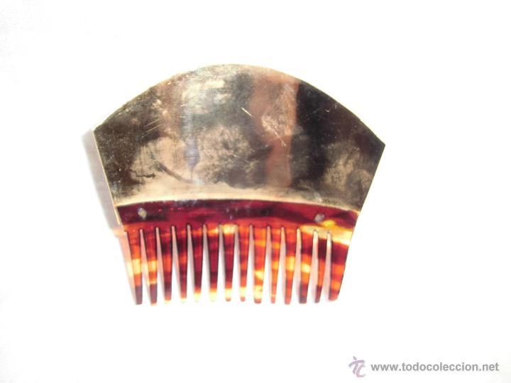 Antigüedades: ANTIGUA PEINETA FALLERA DORADA - Foto 2 - 42574603