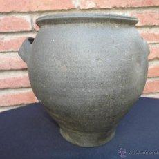 Antigüedades: ALFARERÍA ASTURIANA: CAZUELA FARO DE LIMANES. Lote 42594827