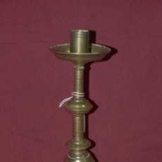 Antiques - Candelero Bronce. S xviii. españa - 42596388
