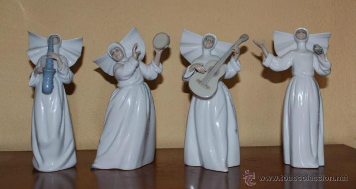LOTE FIGURAS NOVICIAS CANTANDO LLADRÓ ESCULTOR JOSE PUCHE (Antigüedades - Porcelanas y Cerámicas - Lladró)