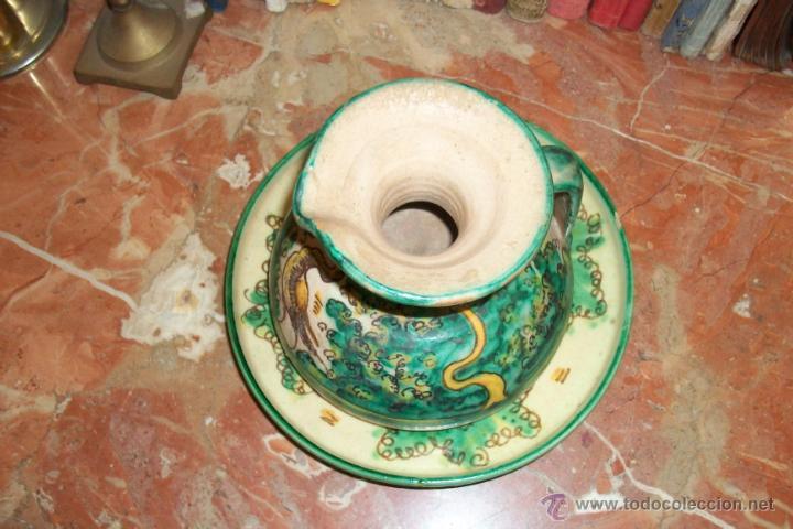 Antigüedades: ANTIGUO JARRON Y PLATO - Foto 3 - 42600877