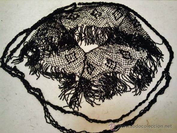Antigüedades: Pechera y collar de azabachería antigua (Onix). - Foto 2 - 42602743