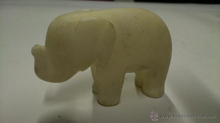 Antigüedades: Cuatro figuras de animales en piedra dura. - Foto 8 - 42606094