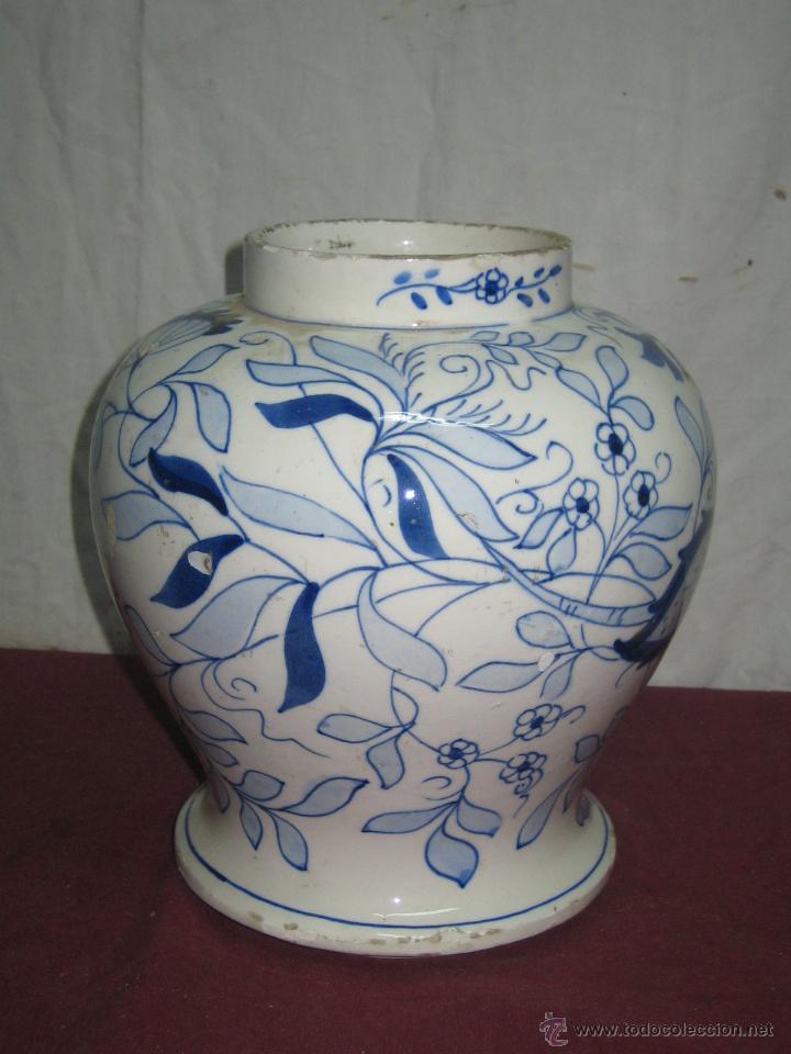 JARRON....MANISES (Antigüedades - Porcelanas y Cerámicas - Manises)