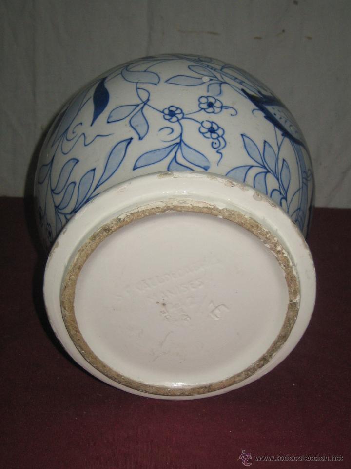 Antigüedades: JARRON....MANISES - Foto 3 - 42610709