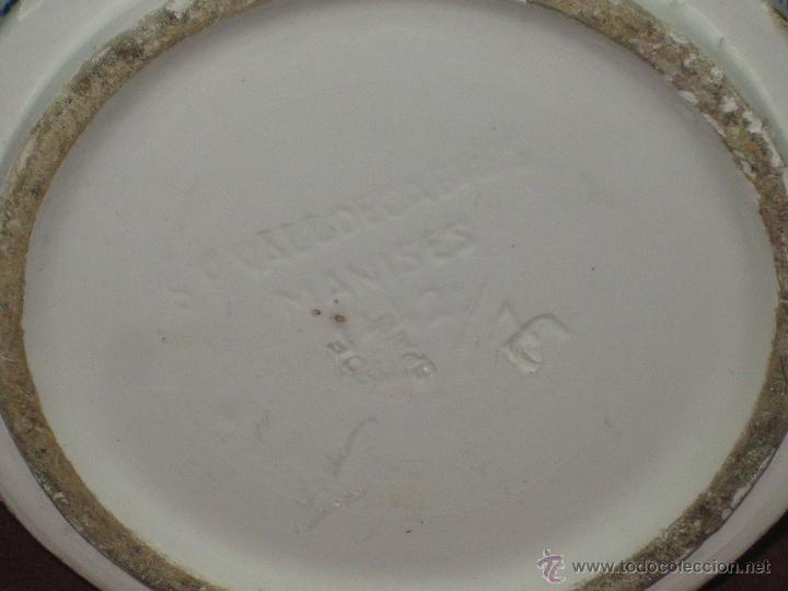 Antigüedades: JARRON....MANISES - Foto 4 - 42610709