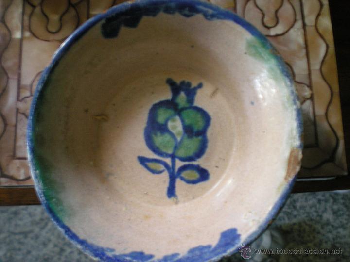 LEBRILLITO DE FAJALAUZA AÑOS 40 (Antigüedades - Porcelanas y Cerámicas - Fajalauza)