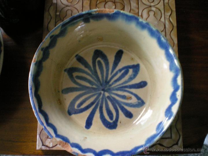 LEBRILLO DE FAJALAUZA AÑOS 30 (Antigüedades - Porcelanas y Cerámicas - Fajalauza)