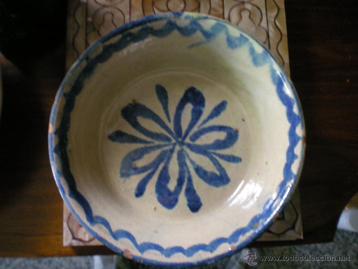 LEBRILLILLO DE FAJALAUZA AÑOS 30 (Antigüedades - Porcelanas y Cerámicas - Fajalauza)