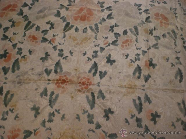 Antigüedades: Manton brocado - Foto 8 - 42619115