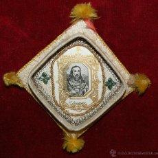 Antigüedades: RELICARIO CON IMAGEN LITOGRAFIADA DE SAN JACQUES. CIRCA 1900. Lote 42619623