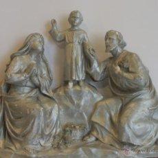 Antigüedades: SAN JOSÉ, VIRGEN MARÍA Y NIÑO JESÚS. Lote 42626443