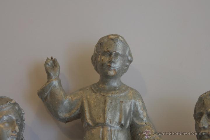 Antigüedades: SAN JOSÉ, VIRGEN MARÍA Y NIÑO JESÚS - Foto 4 - 42626443