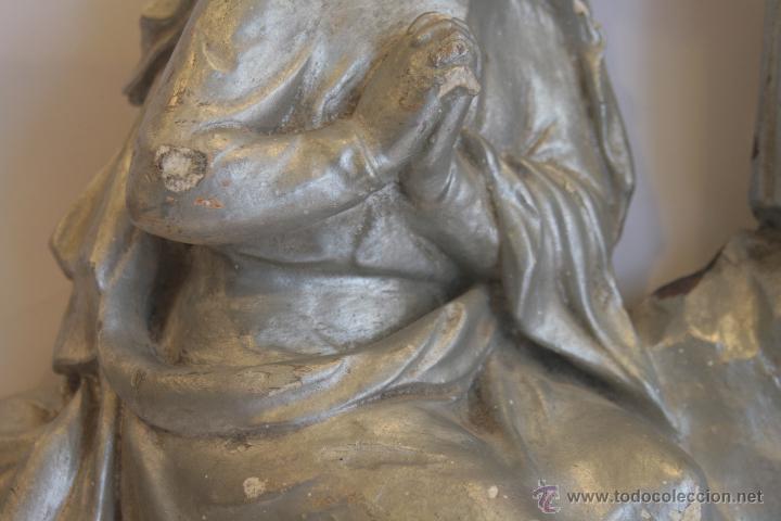 Antigüedades: SAN JOSÉ, VIRGEN MARÍA Y NIÑO JESÚS - Foto 5 - 42626443