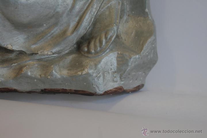 Antigüedades: SAN JOSÉ, VIRGEN MARÍA Y NIÑO JESÚS - Foto 14 - 42626443