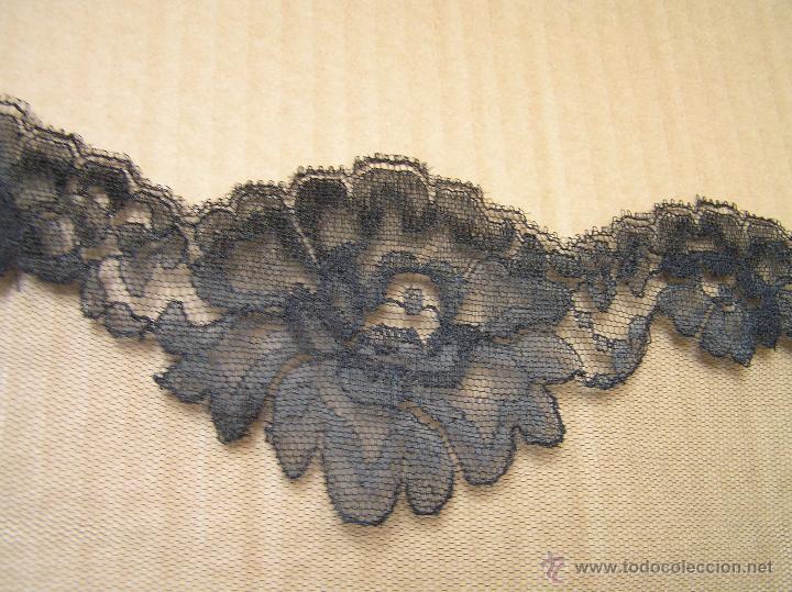 Antigüedades: ANTIGUA MANTILLA O VELO DE MISA .CHANTILLY. SIGLO XIX - Foto 4 - 49898187