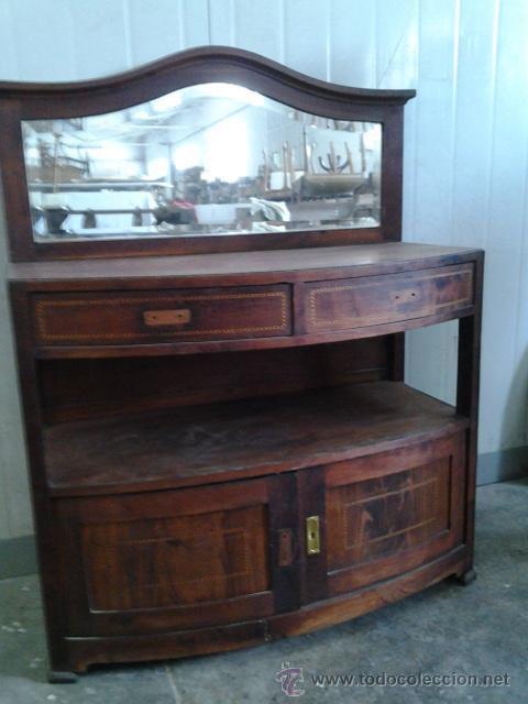 Trinchante auxiliar modernista de caoba marque comprar - Comprar muebles antiguos ...