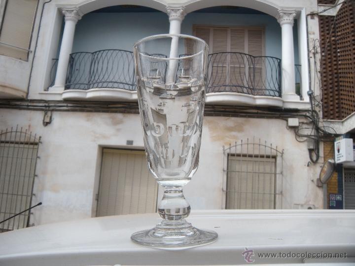 Antigüedades: ANTIGUA COPA FLORERO TALLADO DE SANTA LUCÍA, CARTAGENA - Foto 4 - 42659278