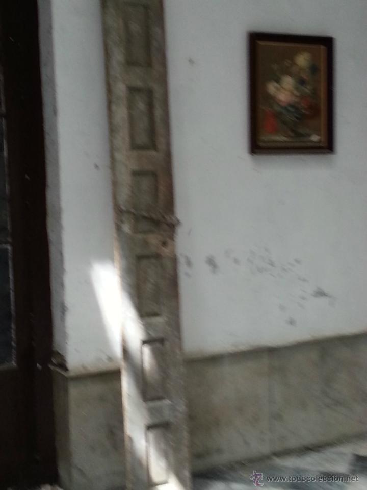 Antigüedades: LOTE DE 6 ANTIGUAS PUERTAS TODAS, MADERA , PARA RESTAURAR, MUY PESADAS, PREGUNTE - Foto 8 - 42665217