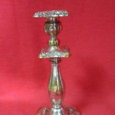 Antigüedades: PRECIOSO CANDELABRO EN METAL, DORADO Y PLATEADO.. Lote 42669292