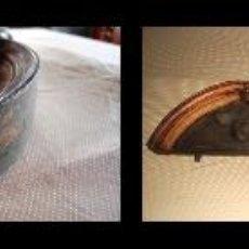 Antigüedades: MAGNÍFICO COPETE TALLADO DE ARMARIO DE MADERA NOBLE S. XIX. Lote 42671806