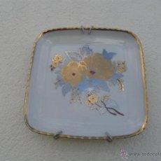 Antigüedades: PEQUEÑO PLATO CUADRADO. Lote 42672089