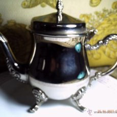 Antigüedades: PRECIOSA LECHERA PLATEADA. SIN USAR.. Lote 42675632