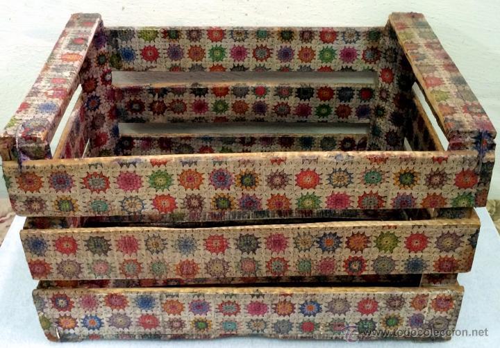 Cajas de frutas decoradas great ideas para decorar con - Decorar una caja de fruta ...
