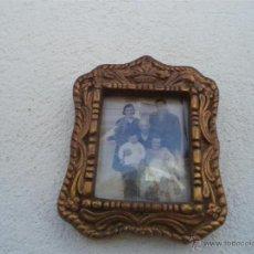 Antigüedades: PORTAFOTO DORADO. Lote 42680840
