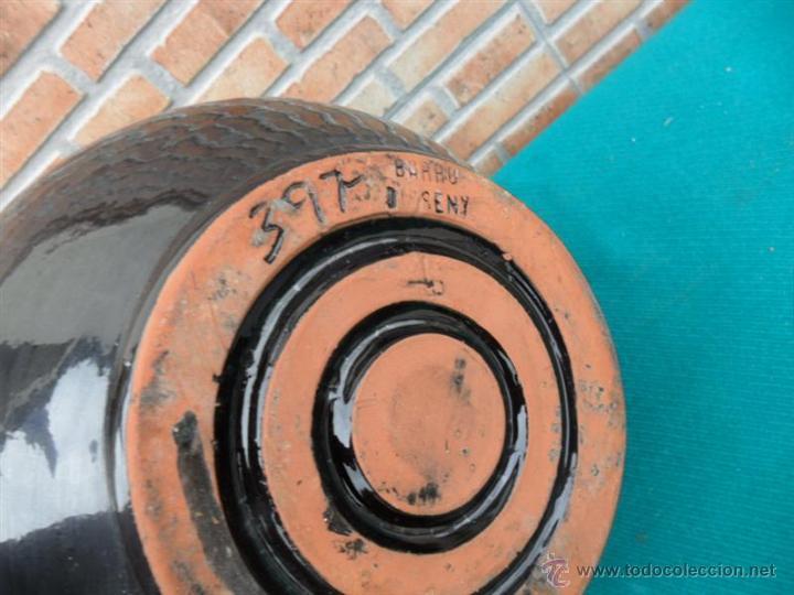 Antigüedades: jarron de barro firmado - Foto 3 - 42683151