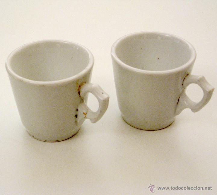 ANTIGUAS TAZAS (Antigüedades - Porcelanas y Cerámicas - Azulejos)