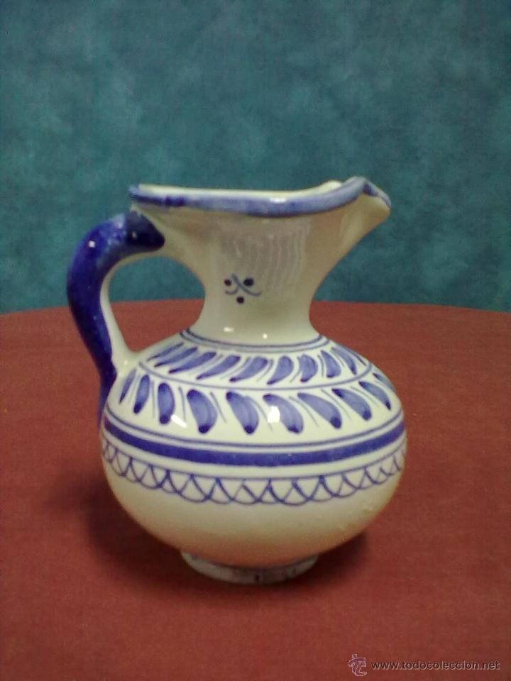 JARRA DE MOLDE TALAVERA. (Antigüedades - Porcelanas y Cerámicas - Talavera)