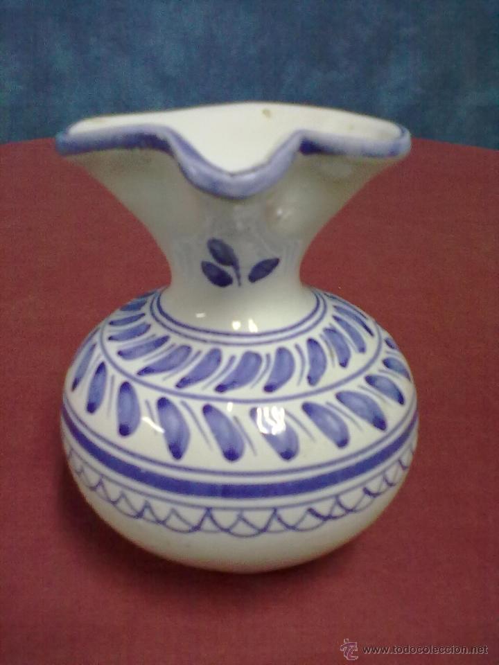 Antigüedades: JARRA DE MOLDE TALAVERA. - Foto 2 - 42688135
