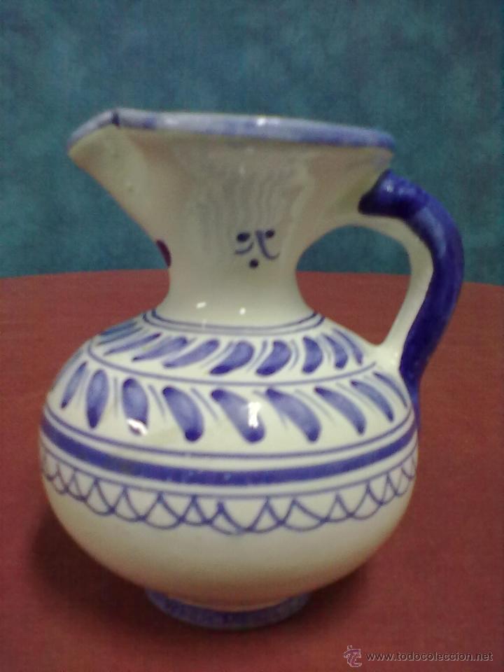 Antigüedades: JARRA DE MOLDE TALAVERA. - Foto 3 - 42688135