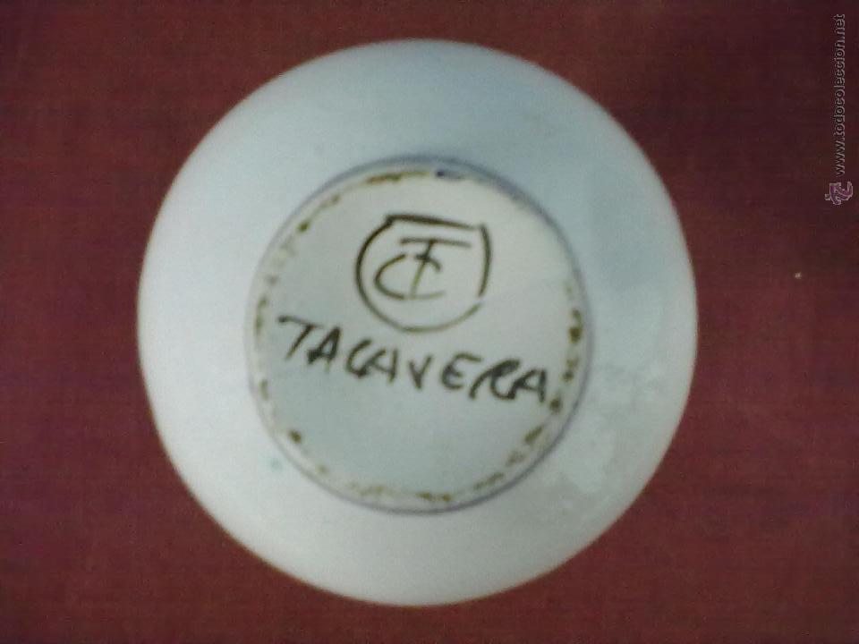Antigüedades: JARRA DE MOLDE TALAVERA. - Foto 5 - 42688135