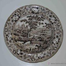 Antigüedades: PLATO INGLES. DILLWYN & CO. , SWANSEA. Lote 42695614